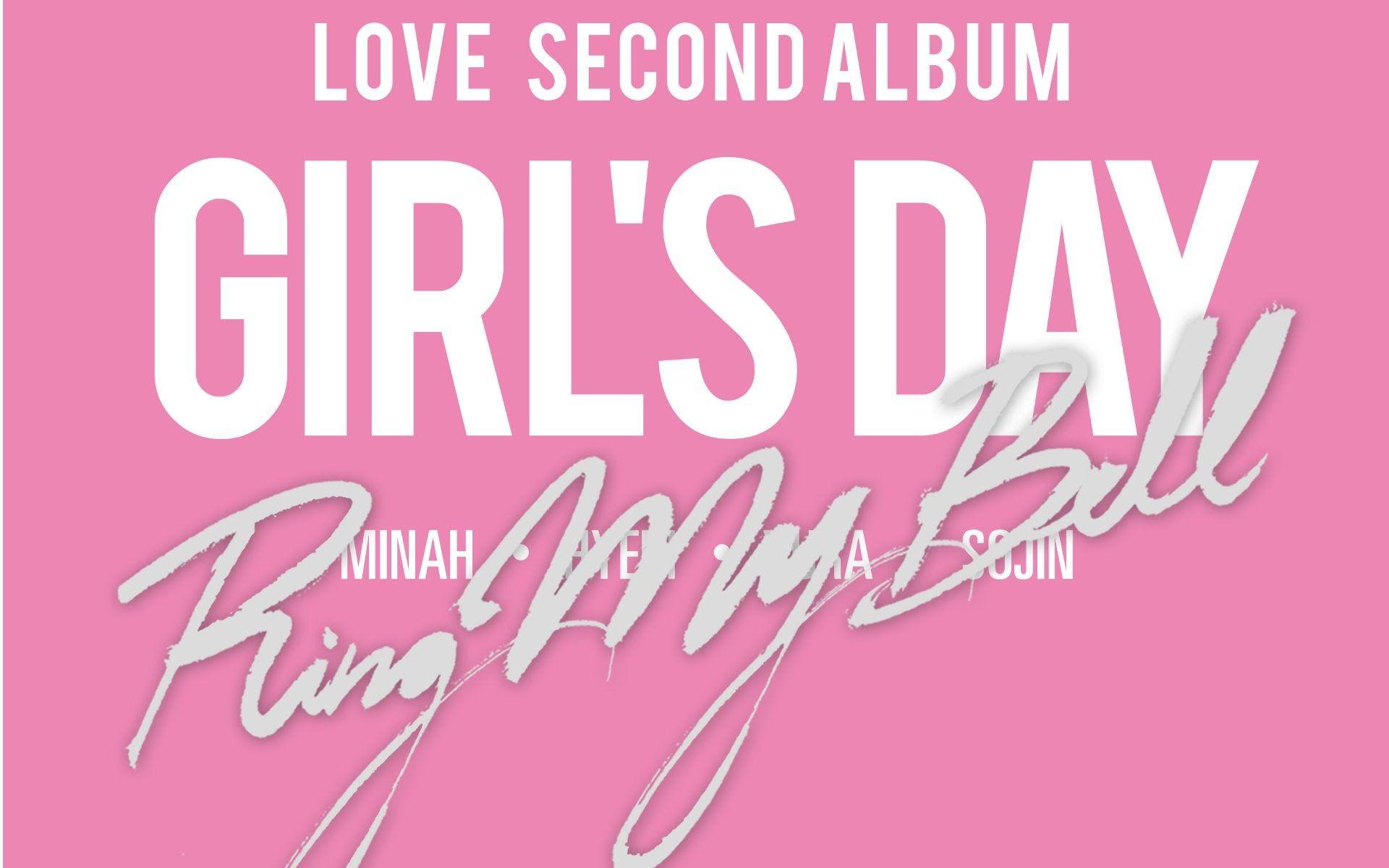 Girl S Day Ring My Bell Love Album Download Girl Day Album Album Songs