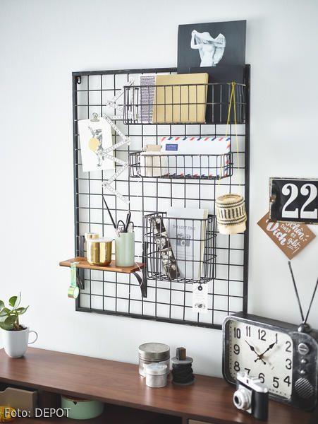 Organizer von DEPOT   Schreibtisch dekorationen, Organizer und ...