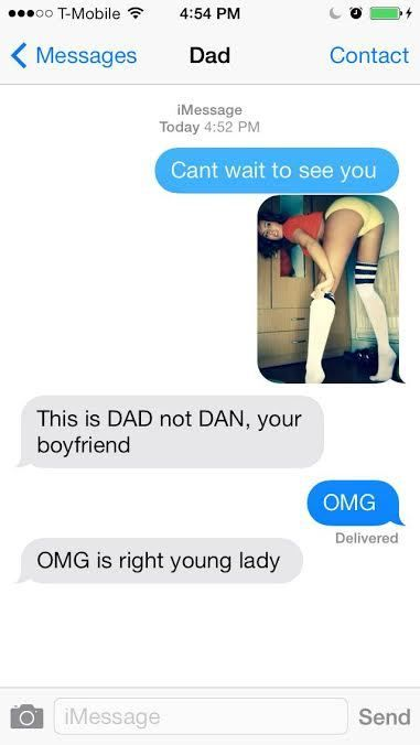 Why oh why do parents feel the need to text? They absolutely SUCK at it!