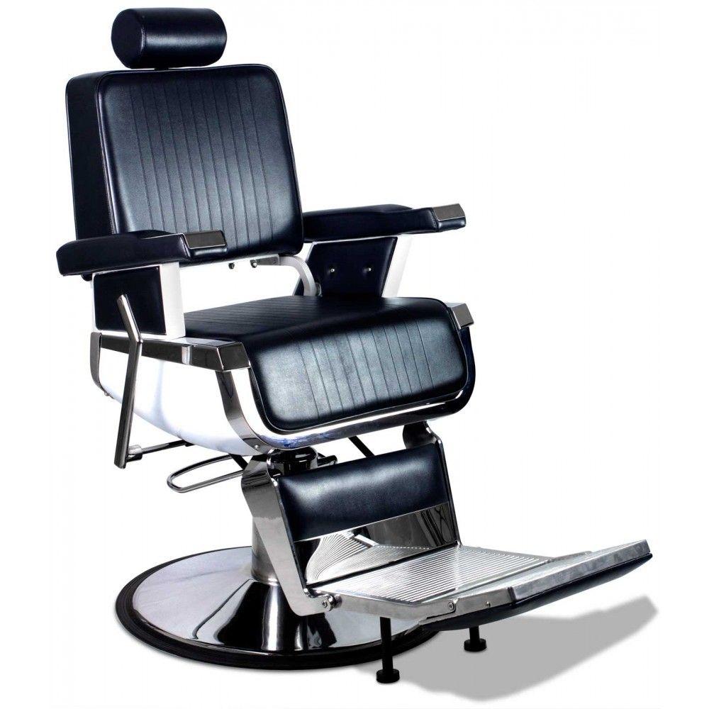 "truman"" vintage reclining hair salon barber chair | barber shop"