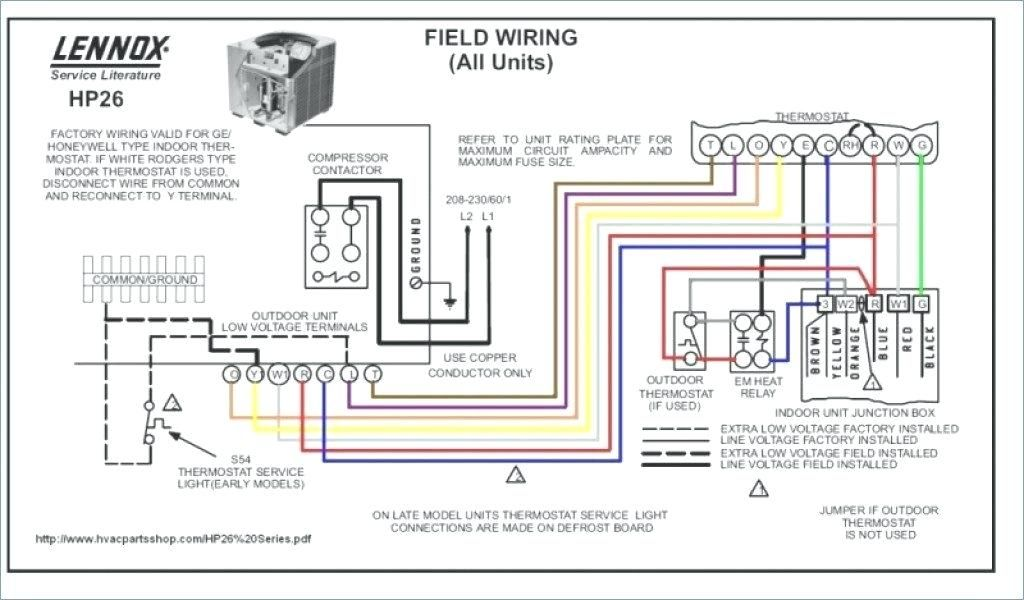 heat pump wiring diagram schematic carrier thermostat wiring diagram indoor heat pump wiring diagram #5