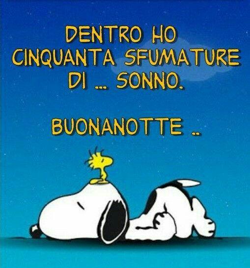 Frasi E Vignette Per Buonanotte Snoopy Buonanotte Buona