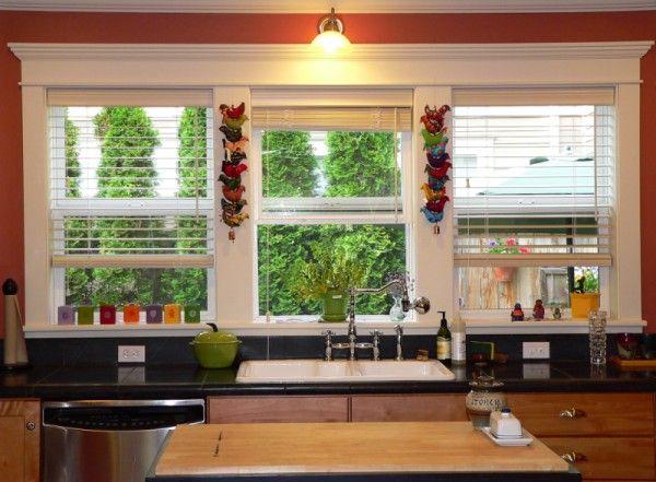 window in kitchen