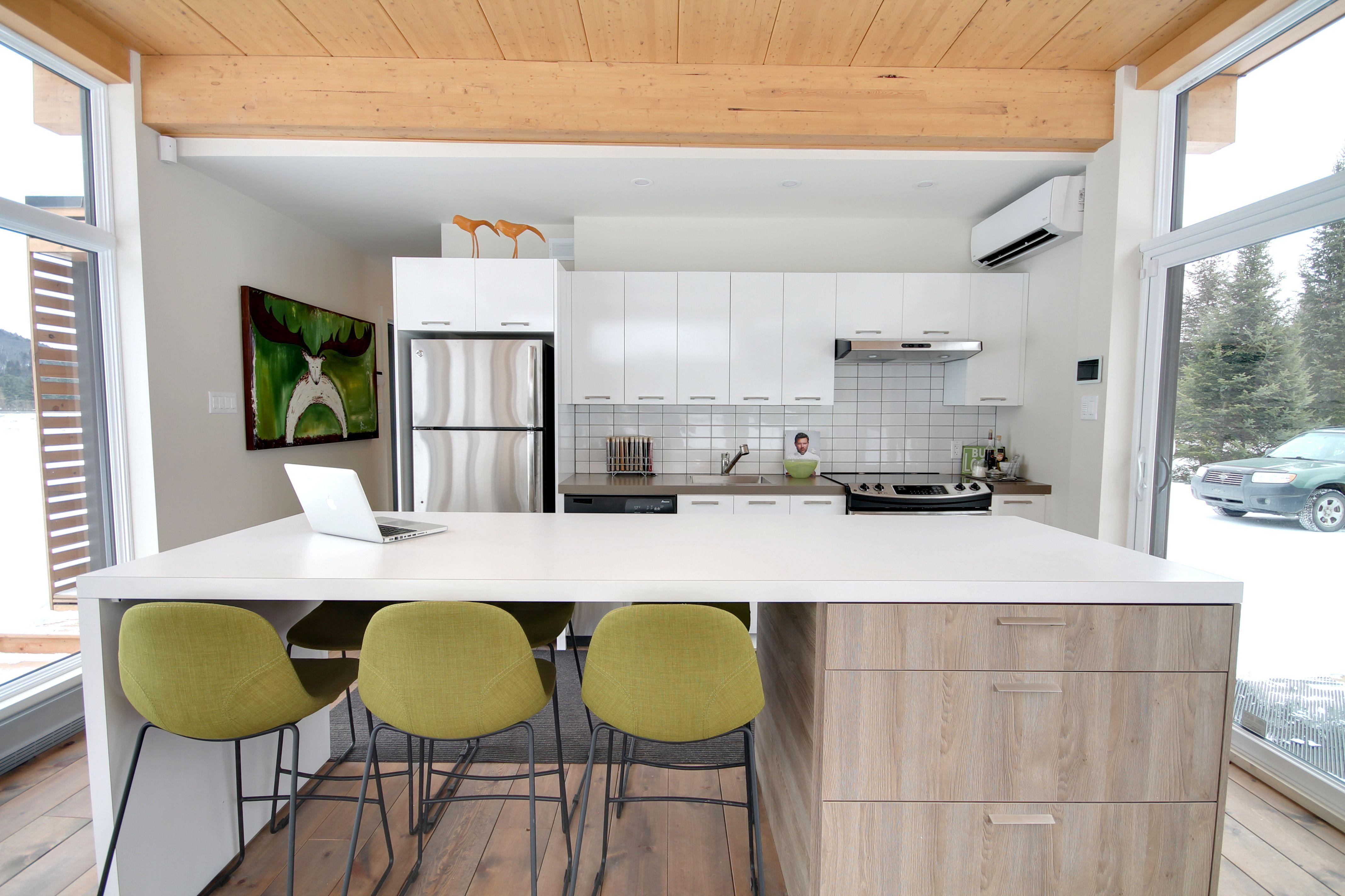 Chic Shack Kitchen © Maisons BONNEVILLE Homes | Cuisine ...