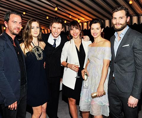 New/Old picture of Jamie and Amelia at The Theory of Everything InStyle Party! -2-  (via @JDornanLife)