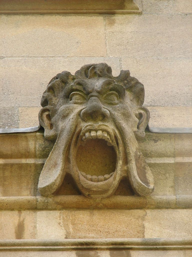 Oxford gargoyles and grotesques faces pinterest oxfords screamer from canterbury quad st johns college oxford easy to do dental work on this one biocorpaavc Images