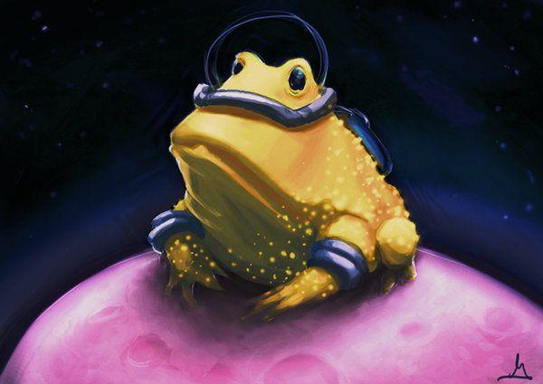 Space Frawg by garyjsmith.deviantart.com on @deviantART