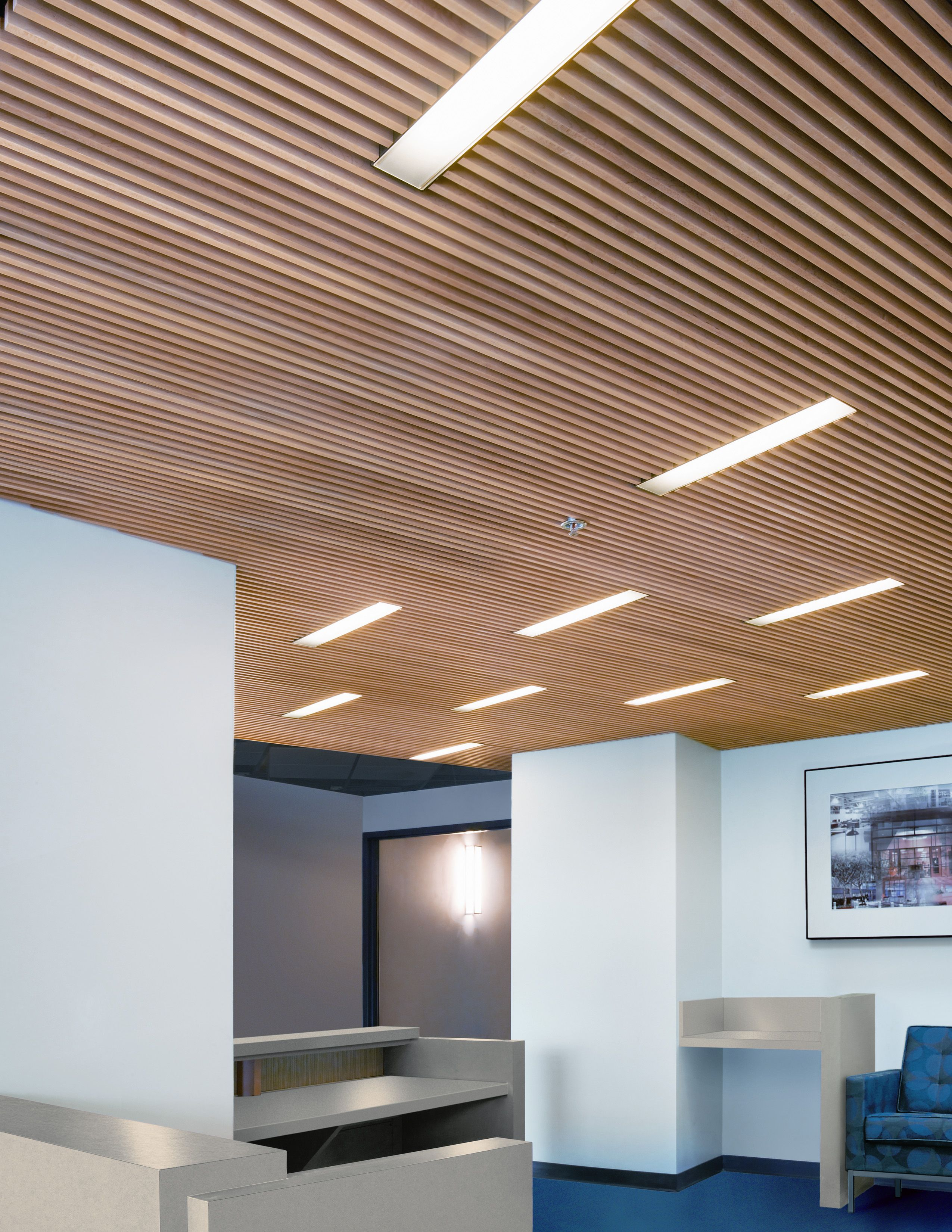 Wood Slat Ceiling Wood Slat Ceiling Wood Ceilings Timber Ceiling