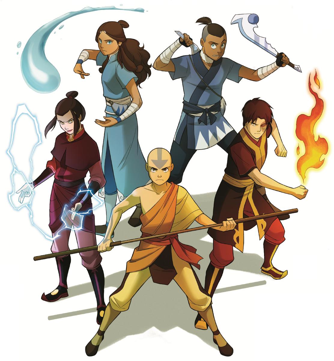 Team Avatar: Antomori: Avatar The Search - Cover Art