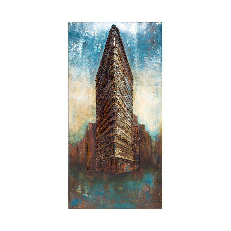 Urban 95 Sky Rise 3D Metal Wall Art - NLA18