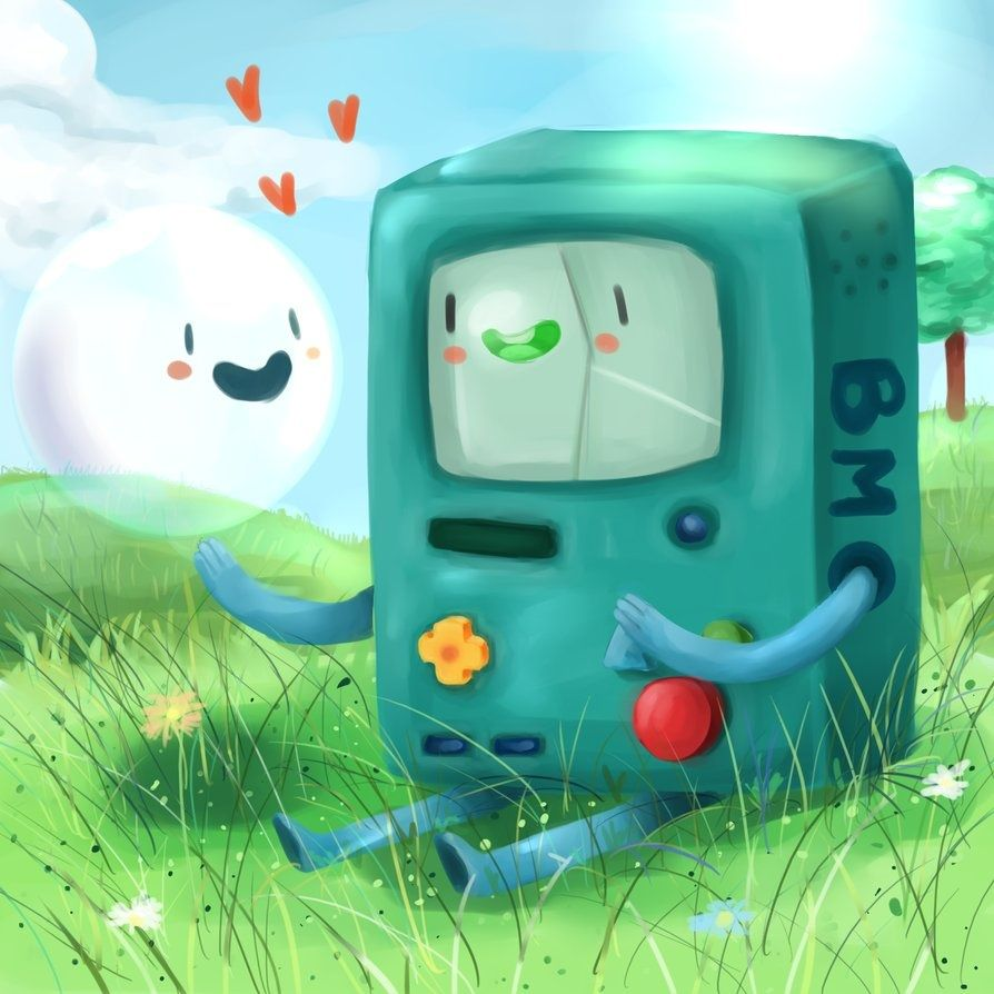 Adventure Time With Finn And Jake Fan Art Bmo And Bubble Adventure Time Adventure Time Characters Adventure Time Art