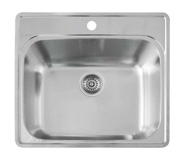 Blanco Essential 25 Drop In Laundry Sink Single Bowl Stainless