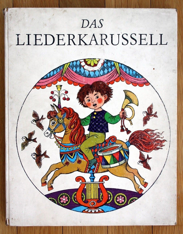 Eva Maria Rubin Das Liederkarussell Bilderbuch – antiquarisch kaufen ...