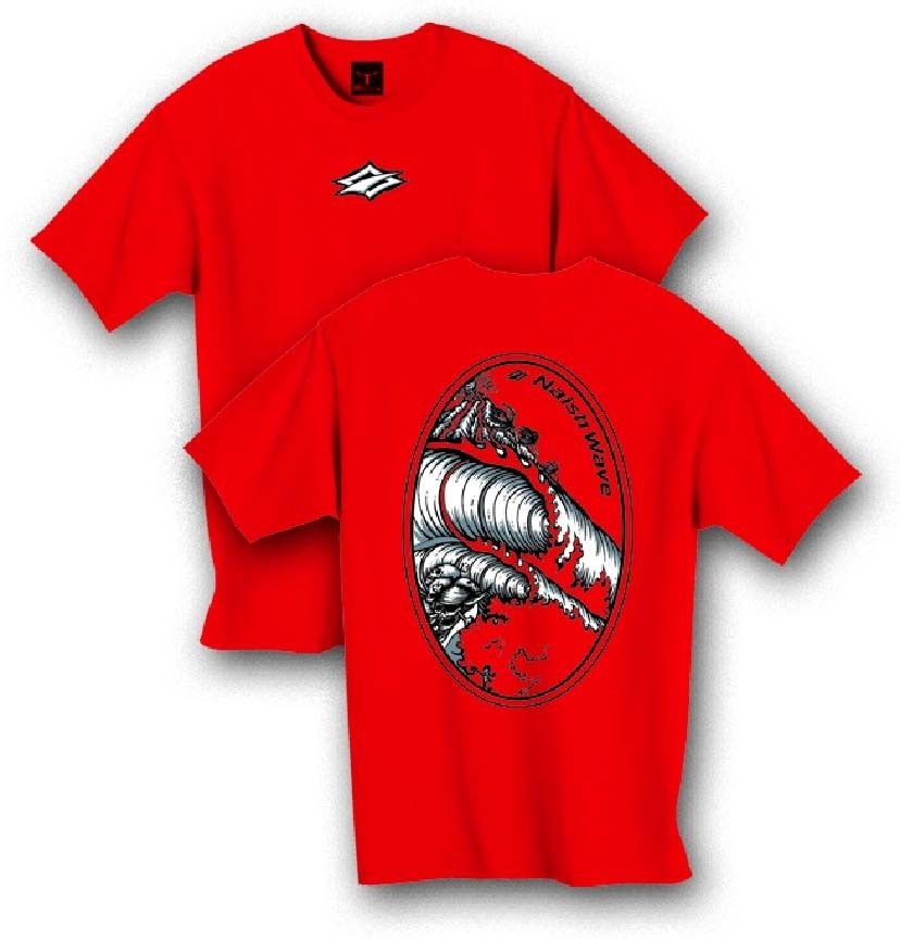 24-7 Boardsports - Naish Wave T Shirt Large, £9.99 (http://www.24-7boardsports.com/naish-wave-t-shirt-large/)
