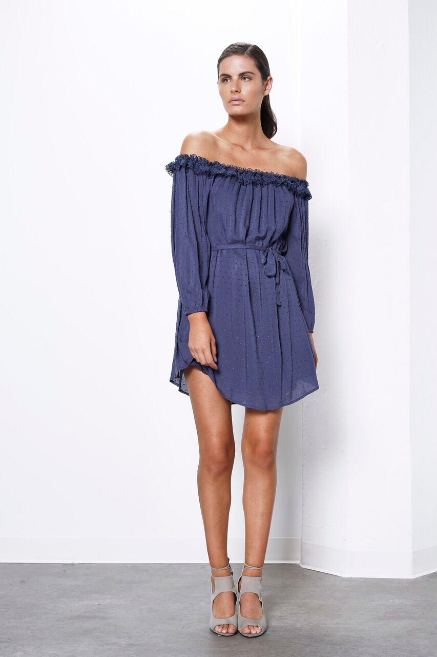 Prime dot off shoulder dress shoulder dress shoulder and cold