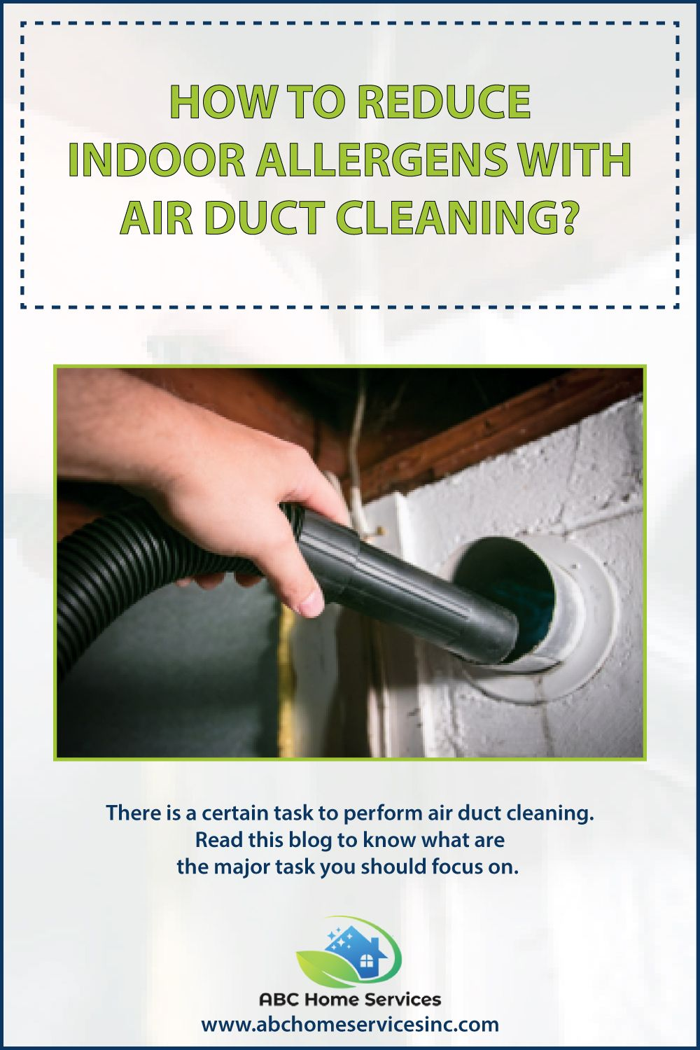 How To Reduce Indoor Allergens with Air Duct Cleaning? in