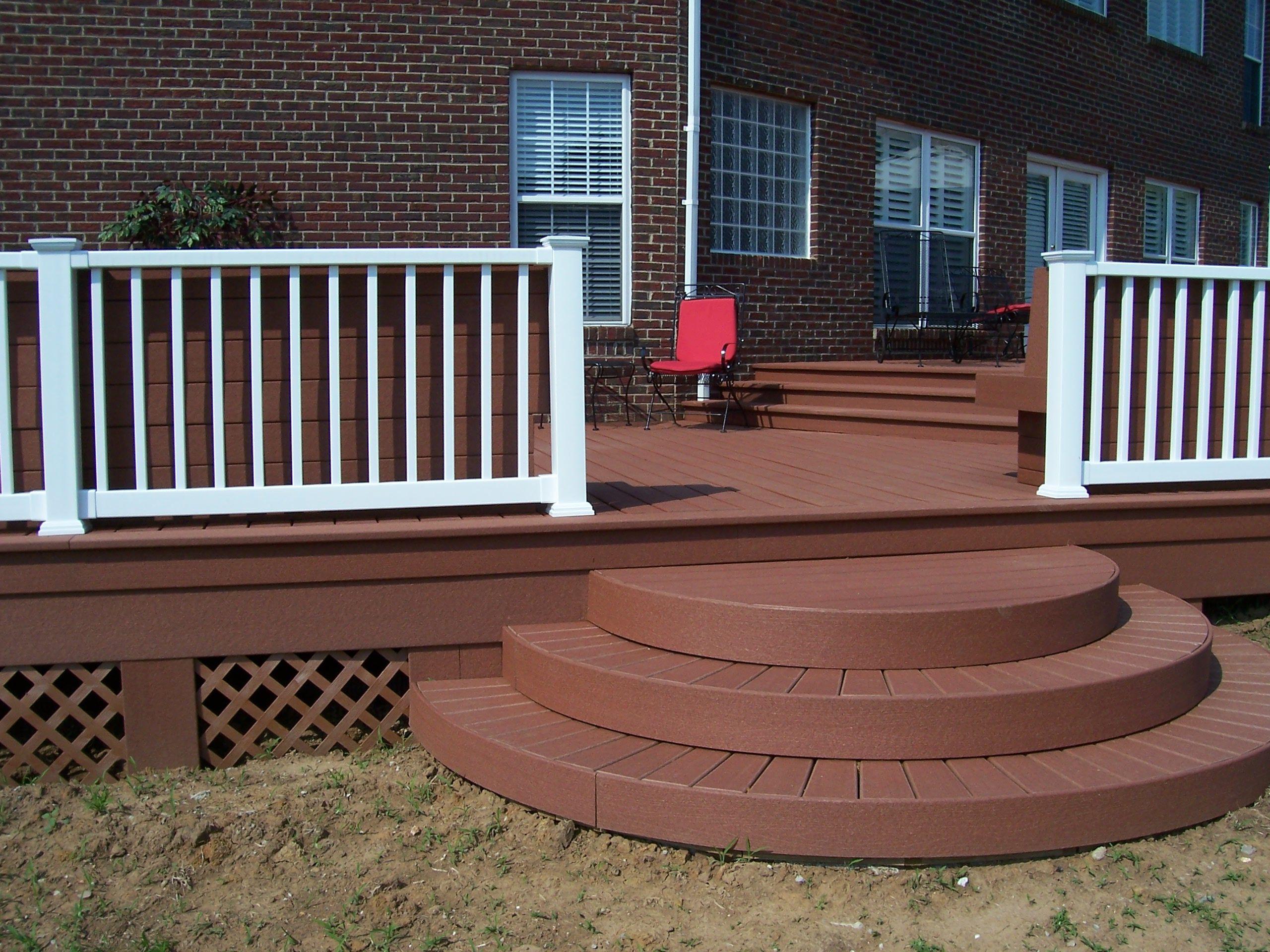 Best Circular Steps Composite Decks Composite Decking Deck 640 x 480