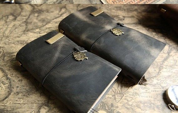 Leather Notebook - 2 Sizes
