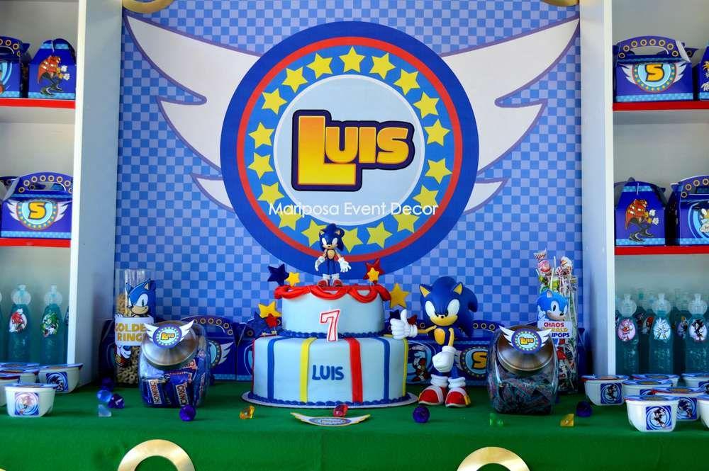 Sonic the Hedgehog Birthday Party Ideas Sonic birthday
