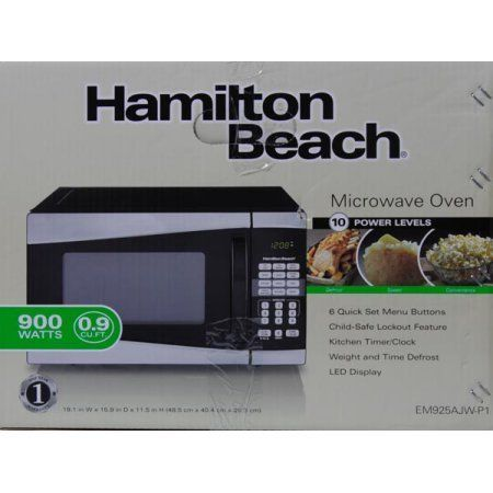 stainless steel microwave toaster oven