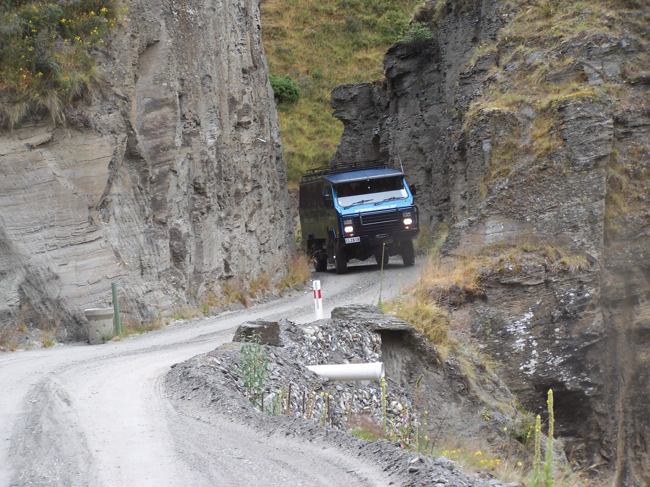 Image result for SKIPPERS CANYON ROAD NEW ZEALAND