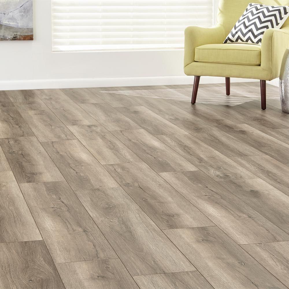 Home Decorators Collection Eir Penmar Oak 8 Mm Thick X 7 64 In Wide X 47 80 In Length Laminate Flooring 30 42 Sq Ft Case Hl1303 In 2020 Flooring Home Decorators Collection Laminate Flooring