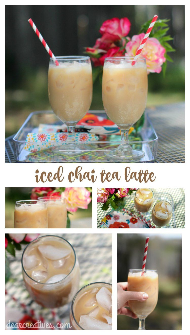 Drinks how to make an iced chai latte latest starbucks