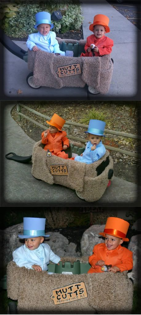 Dumb and Dumber hahah best Halloween costume! I want to do a grown up version of this!