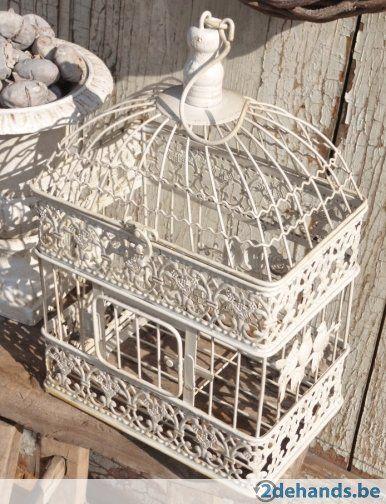 Vogelkooi Decoratie Antiek Look Vogeltjes Roosje Rechthoek K Te Koop Vogelkooi Decoratie Vogelkooi Decoratie