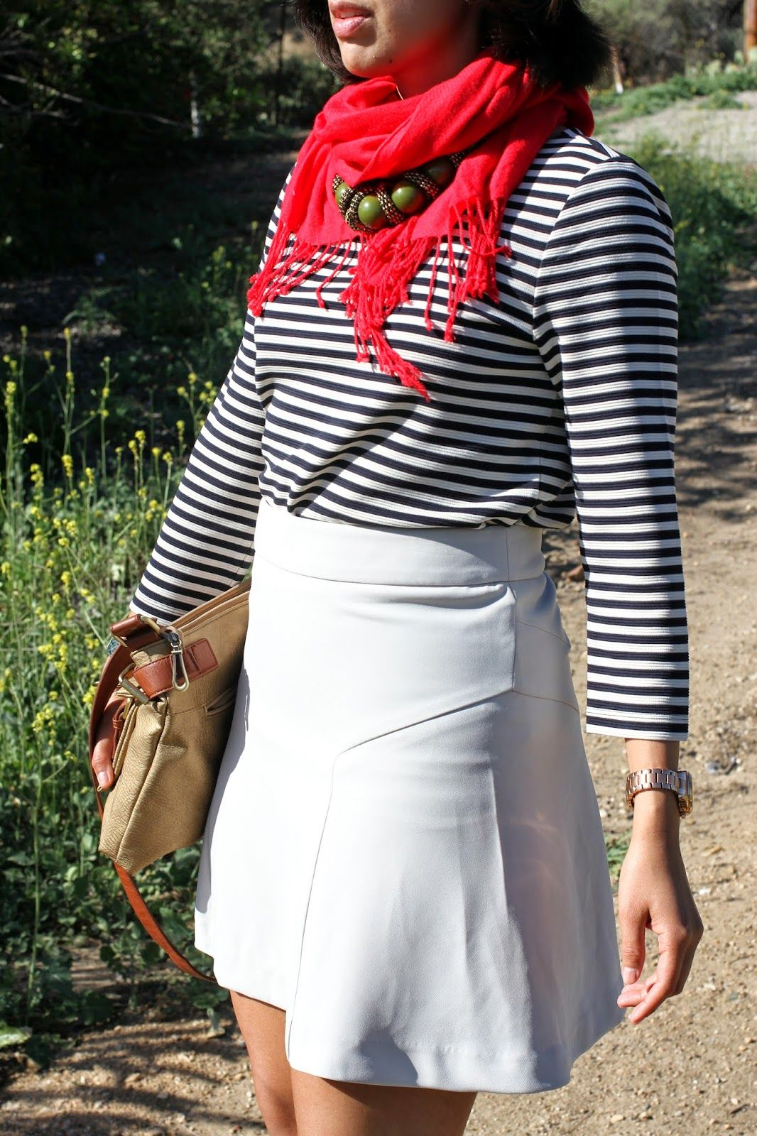 Rocks Fashion Bug French Country Style Inspired Outfit Using Stripes And A Touch Of