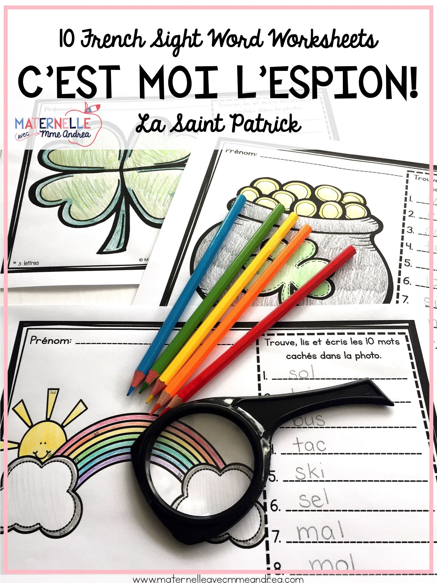 French Decoding Practice Get Your French Primary