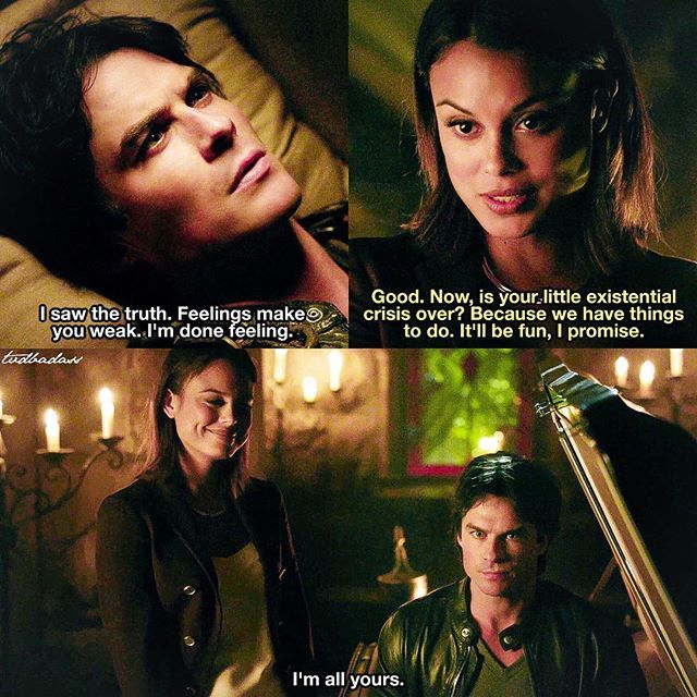 [8x05 - Coming Home Was A Mistake] NO NO NO did I mention NO  ⠀ Q: Do you like Sybil? I guess I only liked her in 8x04 when she told her story. But now she annoys me again, she just needs to leave Damon alone. ⠀ My edit give credit [#damonsalvatore#sybil#tvd#thevampirediaries#vampirediaries#tvdforever#8x05|136.2k]