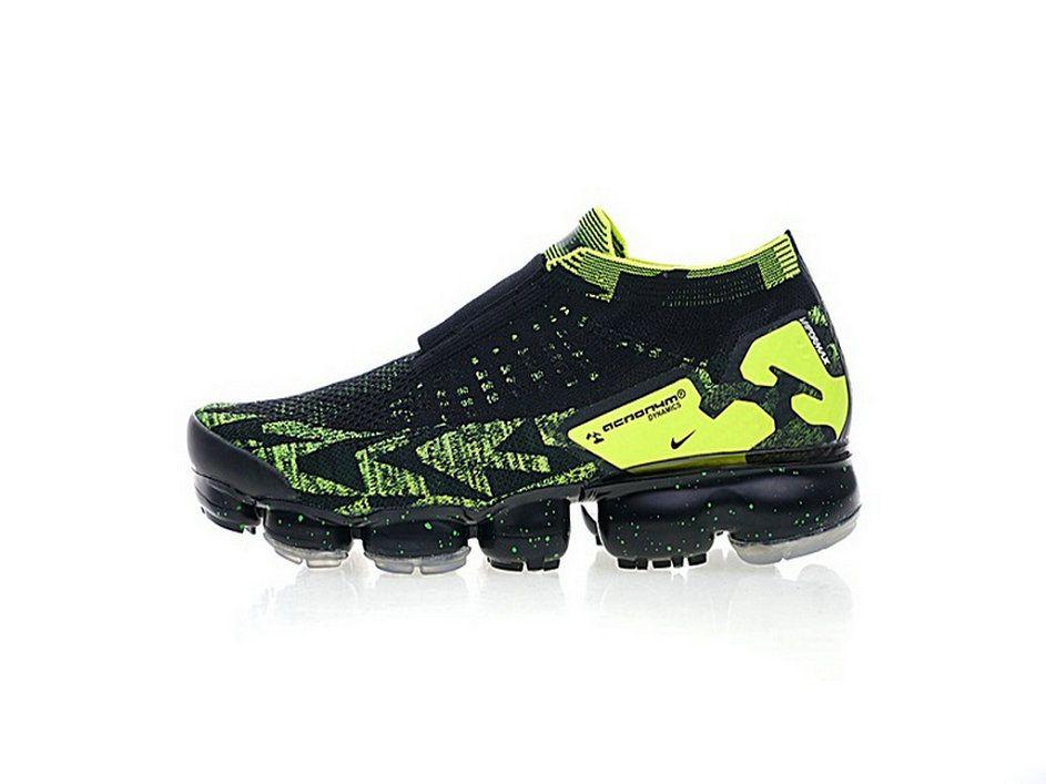 ed44bb16b6b Acronym X Nike Air Vapormax Moc 2 Black Volt s Aq0996-007 Shoe