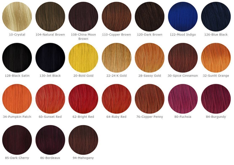 Via Natural Semi Permanent Hair Color Rinse With Aloe Vera 4floz