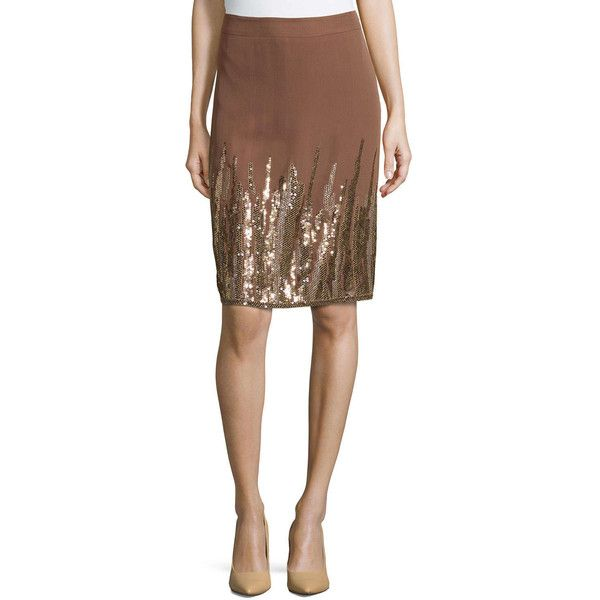 Escada Embellished Silk Skirt Discount Clearance Shop Offer For Sale Cheap Sale Footlocker Pictures Pay With Paypal Online Free Shipping Nicekicks fH7gTN