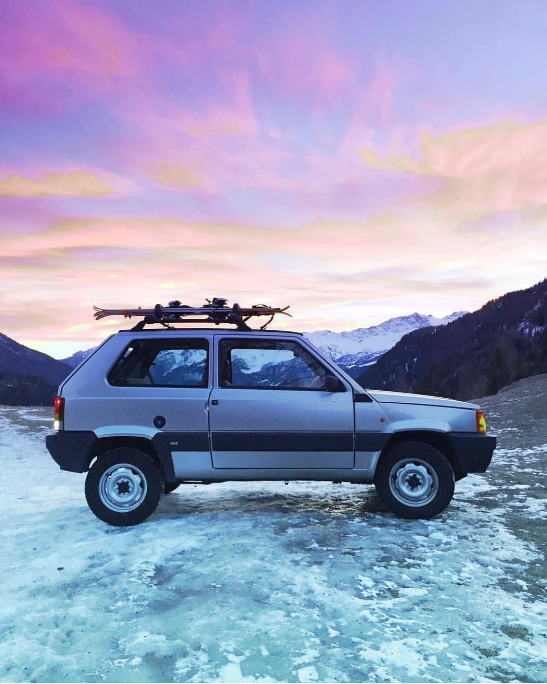 The Queen Of Cool Fiat Panda 4x4 Www Carandvintage Com By