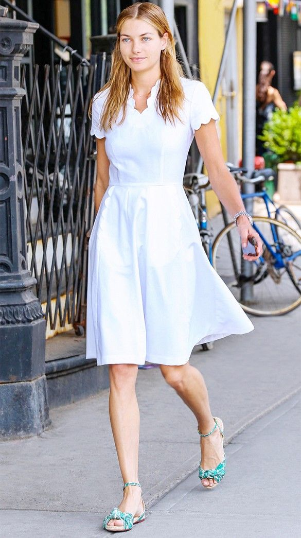 The Summer Dresses Our Favorite Celebs Are Wearing | Tan dresses ...