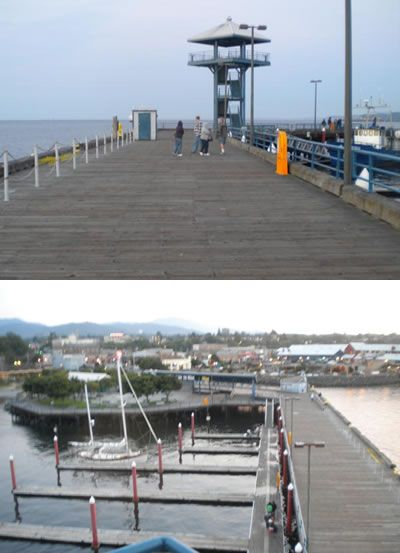 Port Angeles City Pier Public Fishing Piers Of Puget Sound