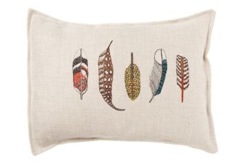 Coral & Tusk Small Feathers Pillow | Artilleriet | Inredning Göteborg