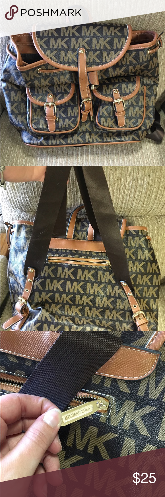 Cute bag Not sure of authenticity. Says Michael Kors but i do not believe it to be so. Still a cute bag though. Bags Shoulder Bags