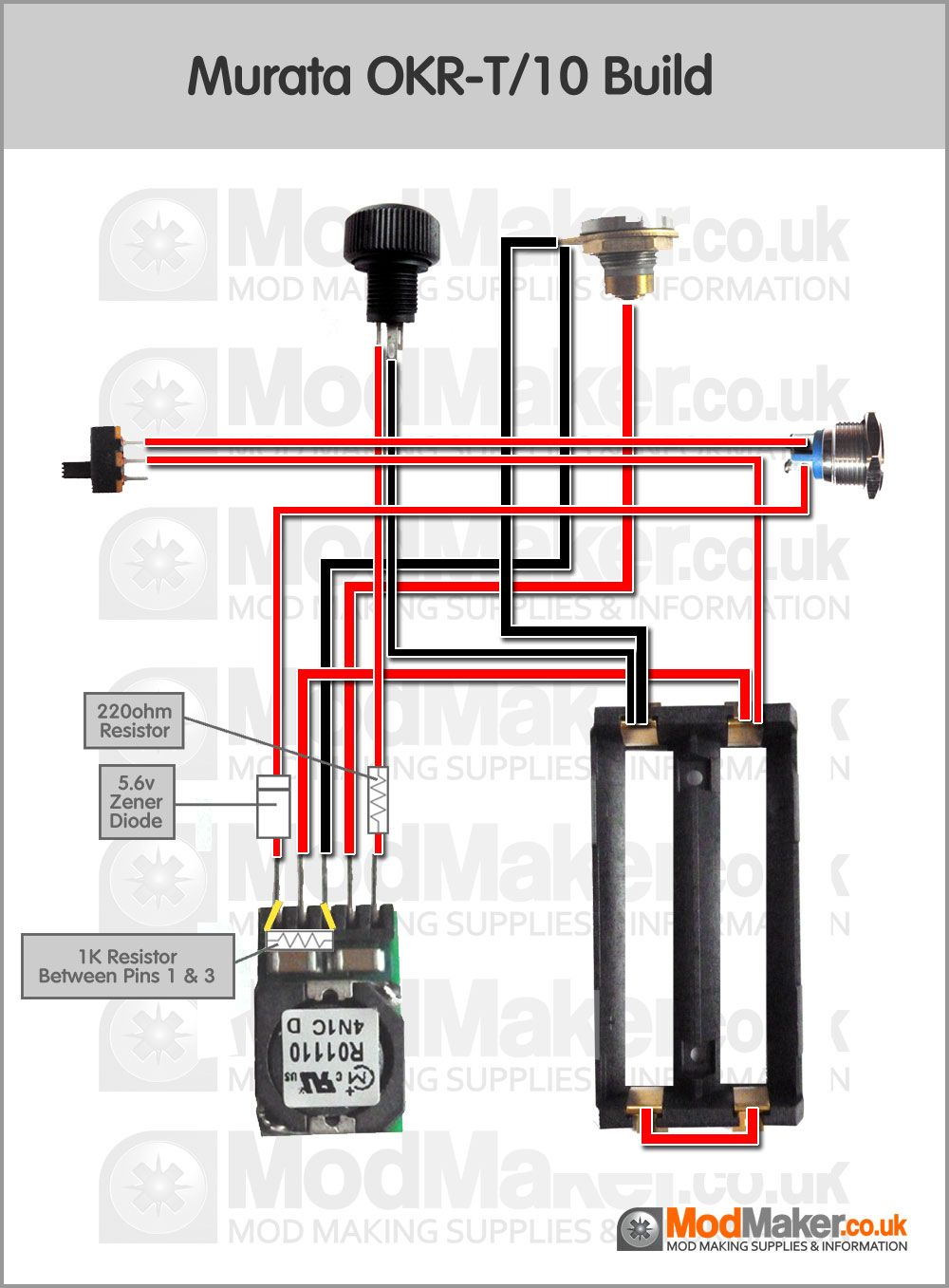 medium resolution of murata okr t 10 wiring diagram diy box mod vape art wooden