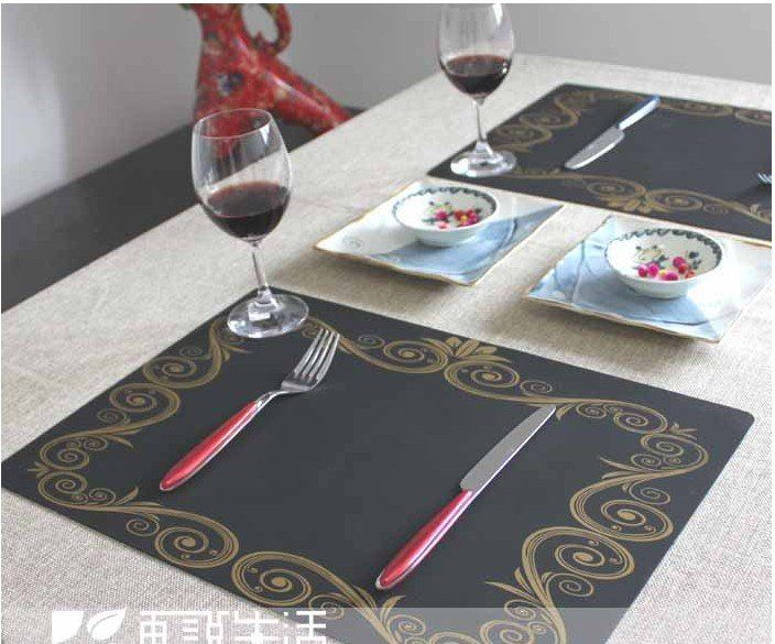 Silicone waterproof placemat/Coaster/Disc pads/Table mat/Insulation pad/Western pad $8.50