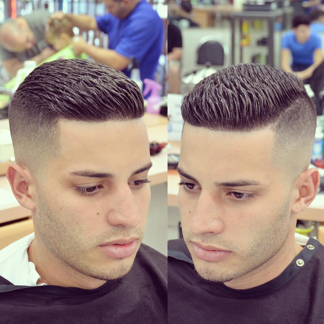 Nice highclass mohawk haircut styles make your daring elegant