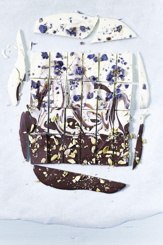 Vergesst Weihnachtskekse: Dieses Jahr gibt's selbstgemachte Schokolade #styleinspiration