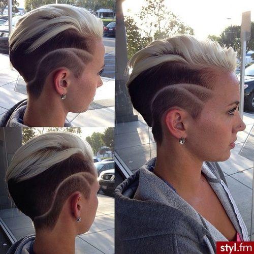 Hot sexy women haircut can not