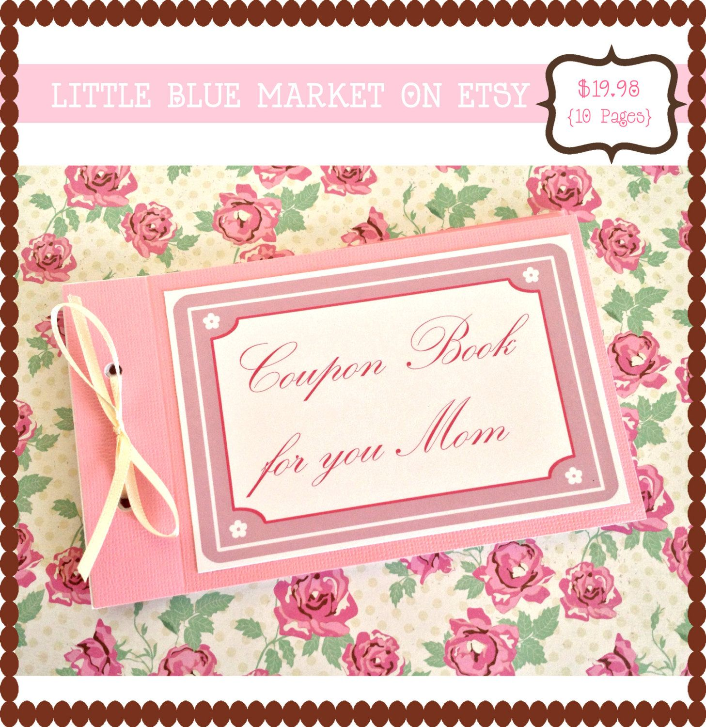 personalized coupon book
