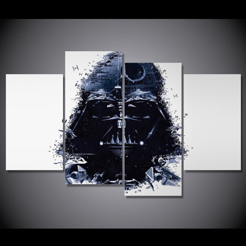Star Wars Canvas Painting Poster Darth Vader Stormtrooper Movie Wall Art Picture