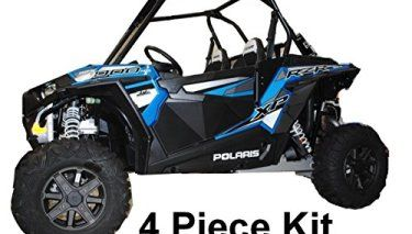 Seat by UTV Mountain Bump 2014-2015 Polaris RZR XP 1000 and RZR 4 XP 1000 Front or Rear MIddle