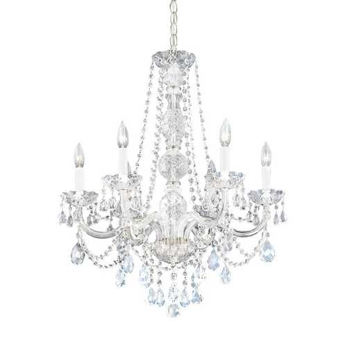 Six Light Heritage Crystal Chandelier Schonbek lighting I want