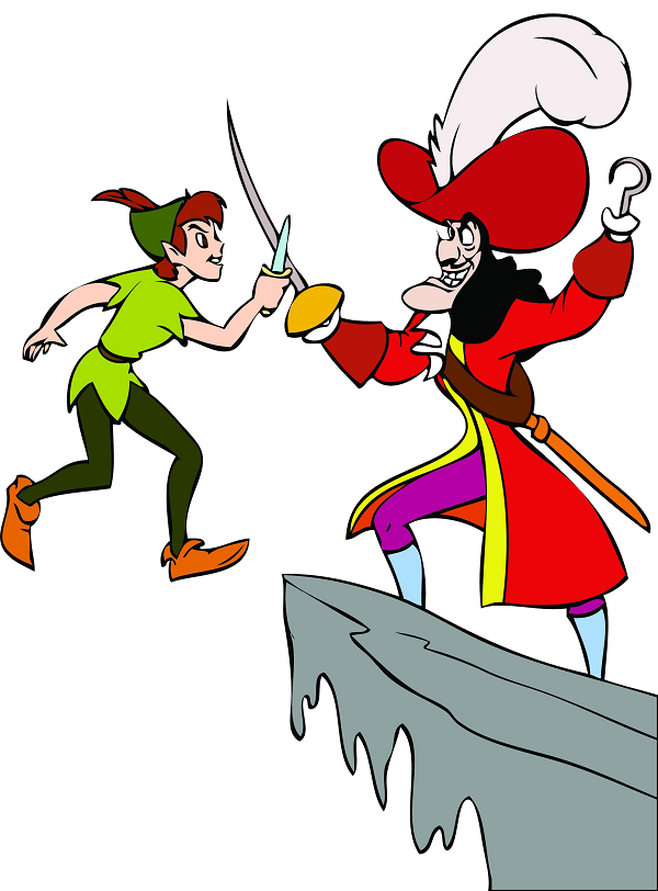 Peter Pan Coloring Pages Free